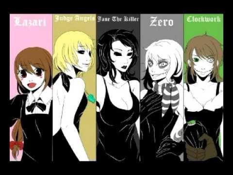 Anime Kawaii Girl Wallpaper Creepypasta Family And Comic Youtube