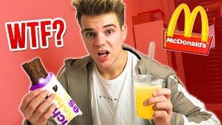McDonalds Produkte testen die niemand kennt! 😍
