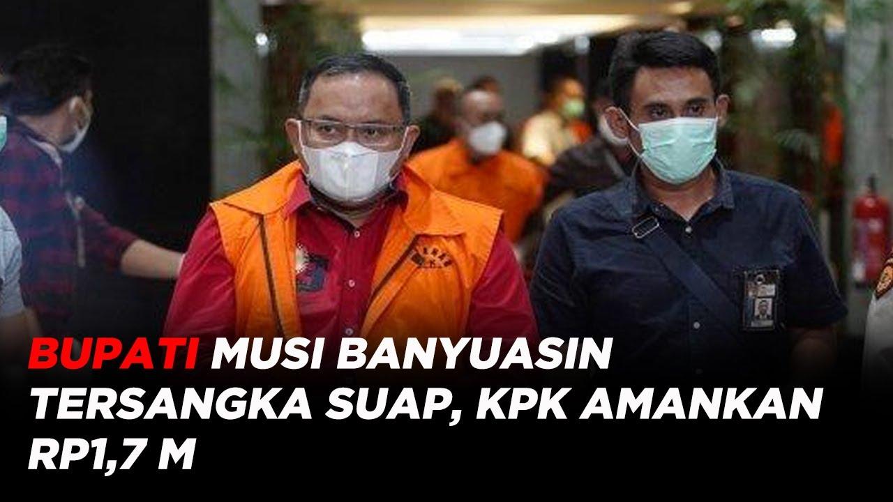 Download Bupati Musi Banyuasin Tersangka Suap Pengadaan Barang & Jasa, KPK Amankan Rp1,7 M #iNewsMalam 16/10