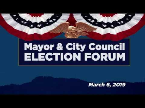 view Mayor & City Council Election Forum video