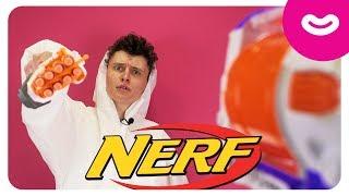 Бластер Нерф. Распаковка Элит Рафкат Hasbro Nerf. Игрушки для мальчиков
