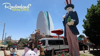 wackiest diner in new mexico worlds largest pistachio one of the weirdest graves of all time