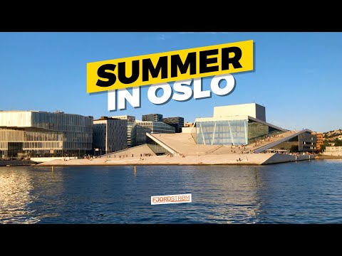 Oslo, Norway in the summertime: FULL GUIDE (attractions, transport, food)