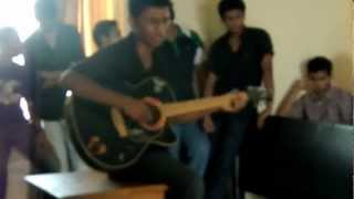Vicky's guitar performance at SVM sir's farewell!!