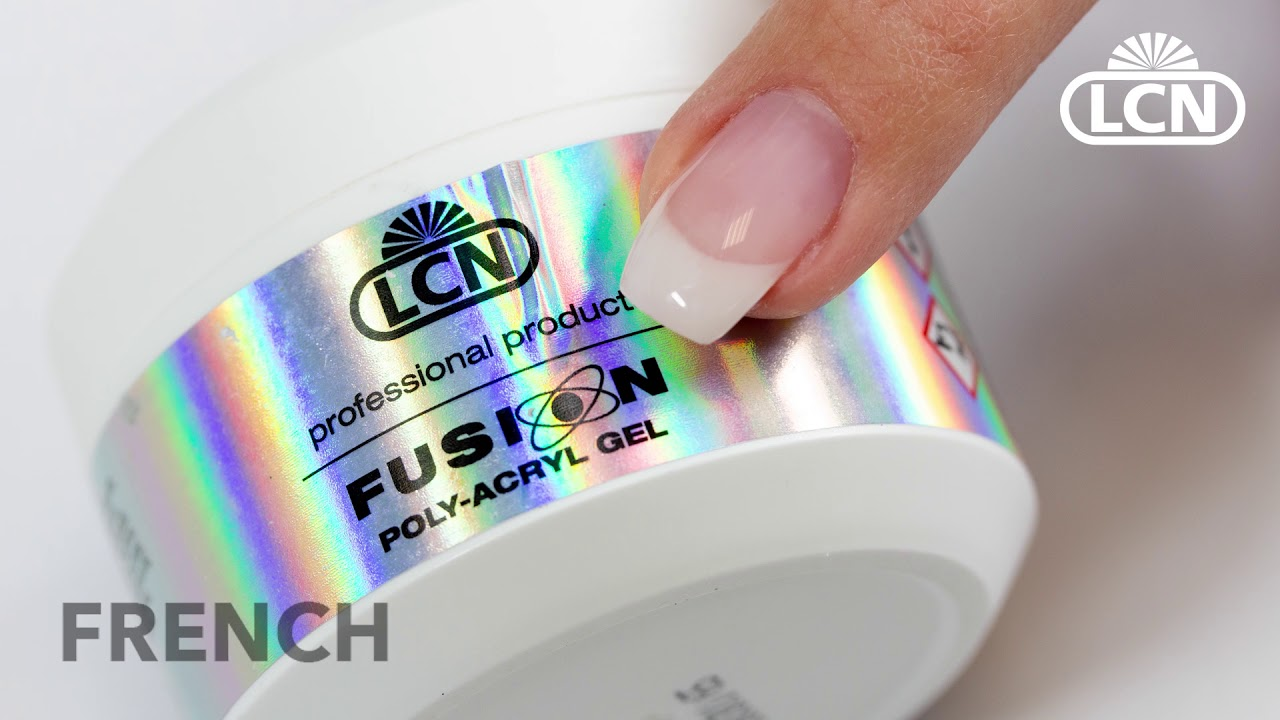 Camouflage Und French Poly Acryl Gel Anleitung Mit Lcn Fusion