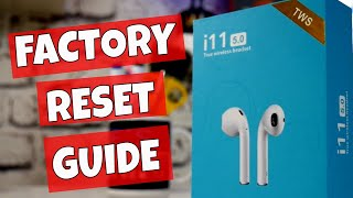 Download I10 TWS Airpod Factory Reset Connection Problems