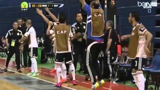 Futsal CAN 2016 Morocco vs Egypt half-time 2 : 2