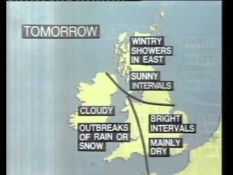 80s and 90s UK TV - News and Weather Excerpts: BBC Weather Abridged mp3