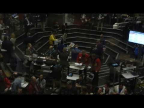 Chicago Mercantile Exchange - Chicago Board of Trade Financial Trading Floor aka The Pit