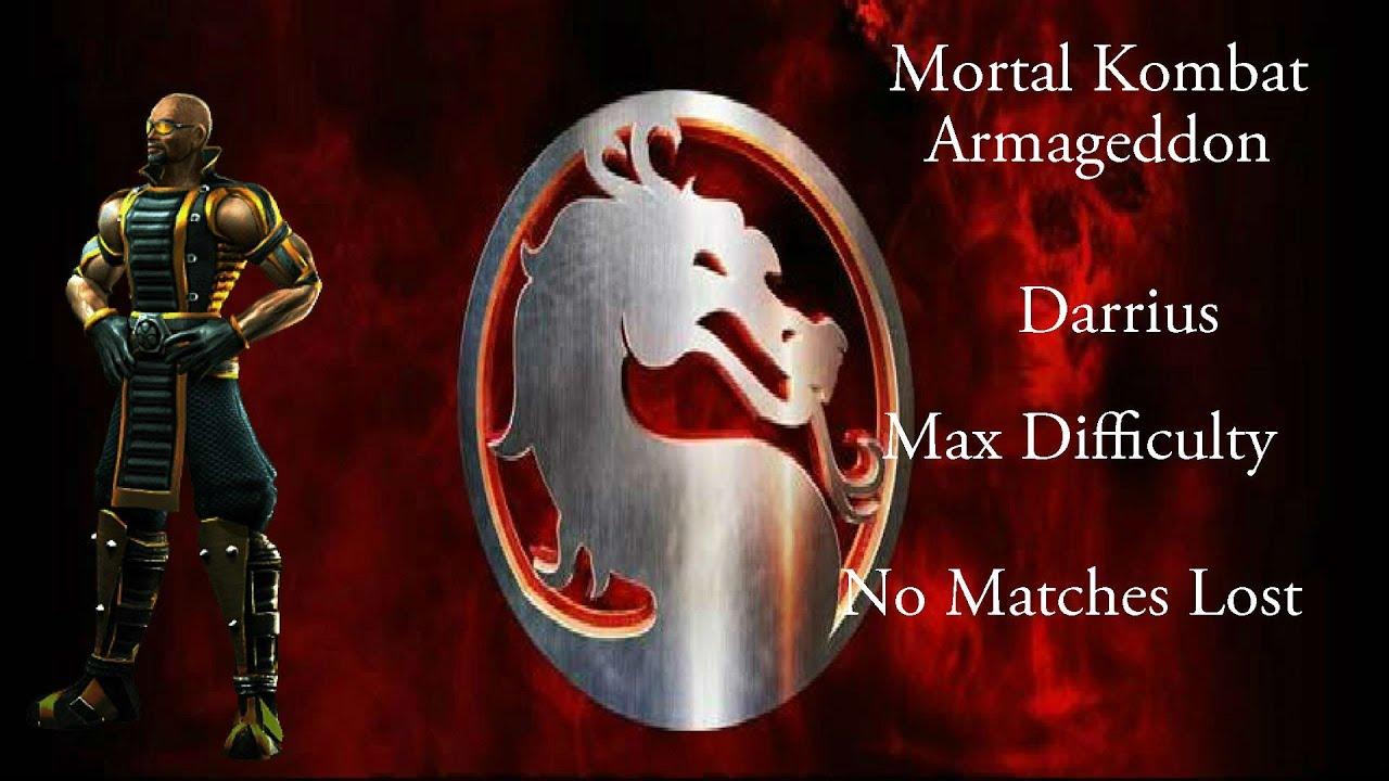 mortal kombat armageddon darrius max difficulty no