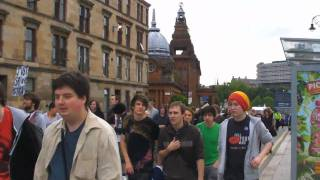 Legalize Cannabis Free the Weed Glasgow Demo
