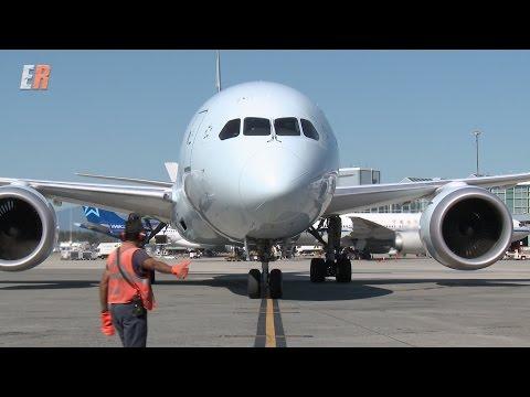 Air Canada 787 Dreamliner Pit Crew
