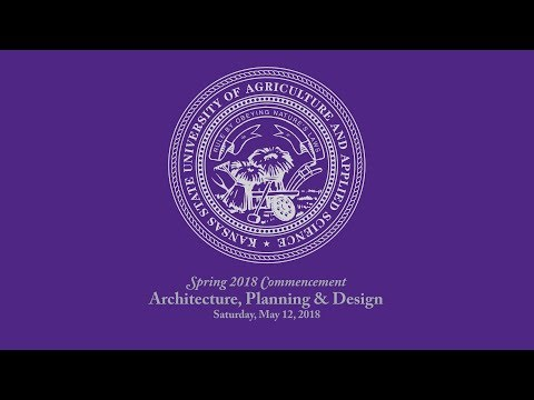 Architecture, Planning & Design | Spring Commencement 2018