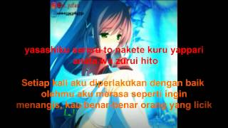 Gambar cover Yui-Namidairo lirik indonesia~