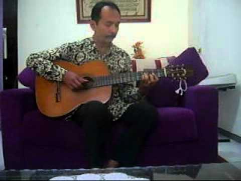 Cinta Pertama_Song Guitar Cover_Garby.flv