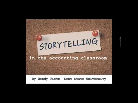Storytelling in the Accounting Curriculum