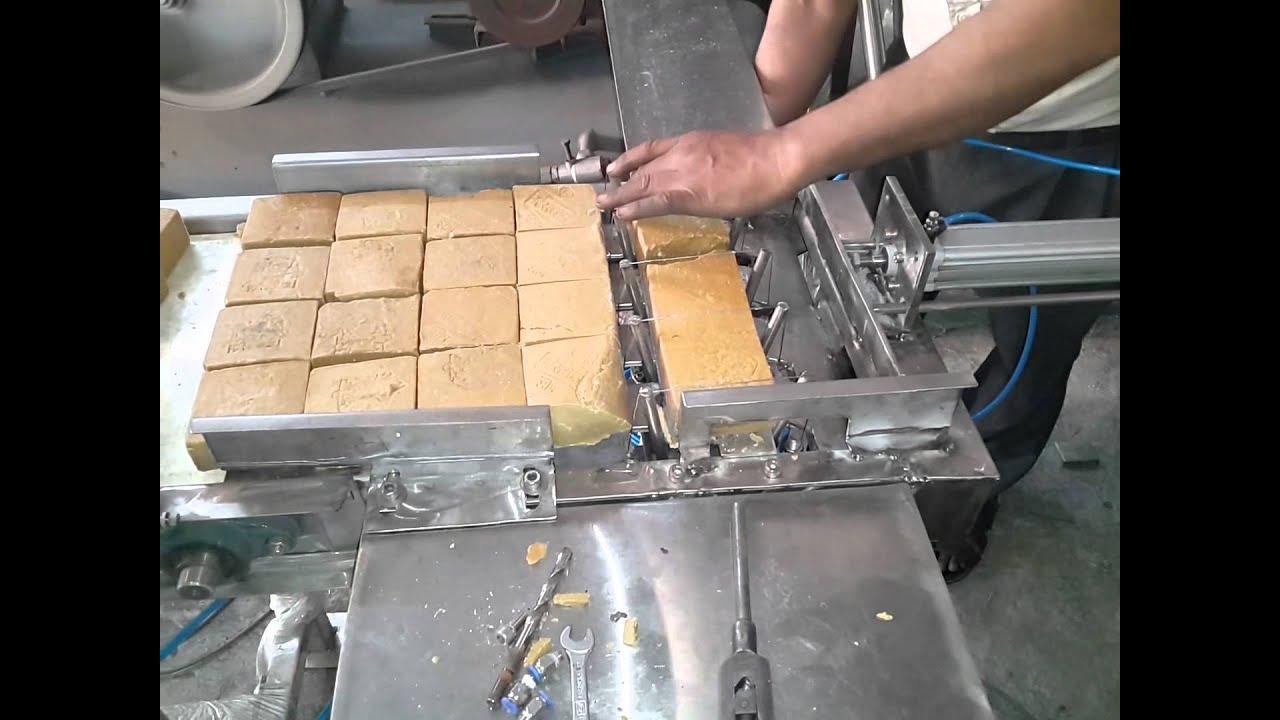 Pneumatic Soap Cutting Machine Youtube