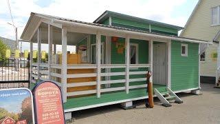 видео Как построить дом-баню из бруса: базовая технология строительства