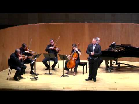 Morgen by Richard Strauss, Gabriel Liboiron-Cohen and Quartet San Francisco
