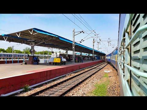 Arriving at Tiruchirappalli/Trichy Junction || Vasco Velankanni Express