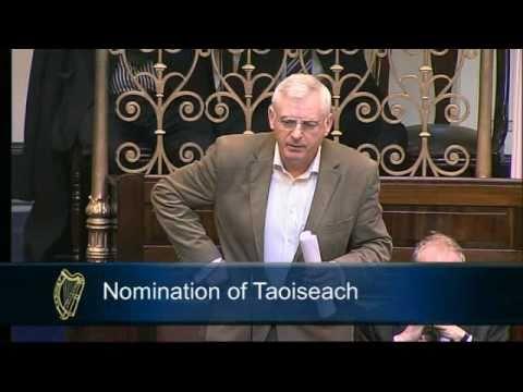 Joe Higgins' first speech back in the Dáil
