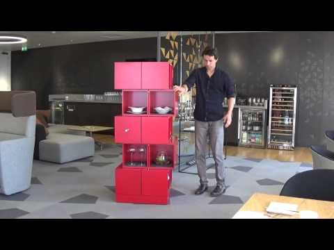 "The Transforming Cubrick Cabinet Comes from ""Chaos Technique"""