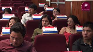Tema:UNMSM recibe a las autoridades de la U.N. Daniel Alcides Carrión