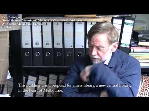 Peter Corrigan State Library Vic Edmond & Corrigan