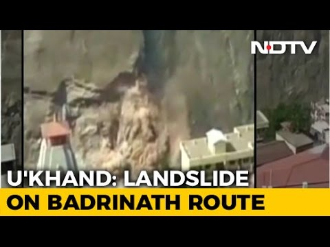 Landslide On Rishikesh-Badrinath Highway, 1500 Pilgrims Feared Stranded