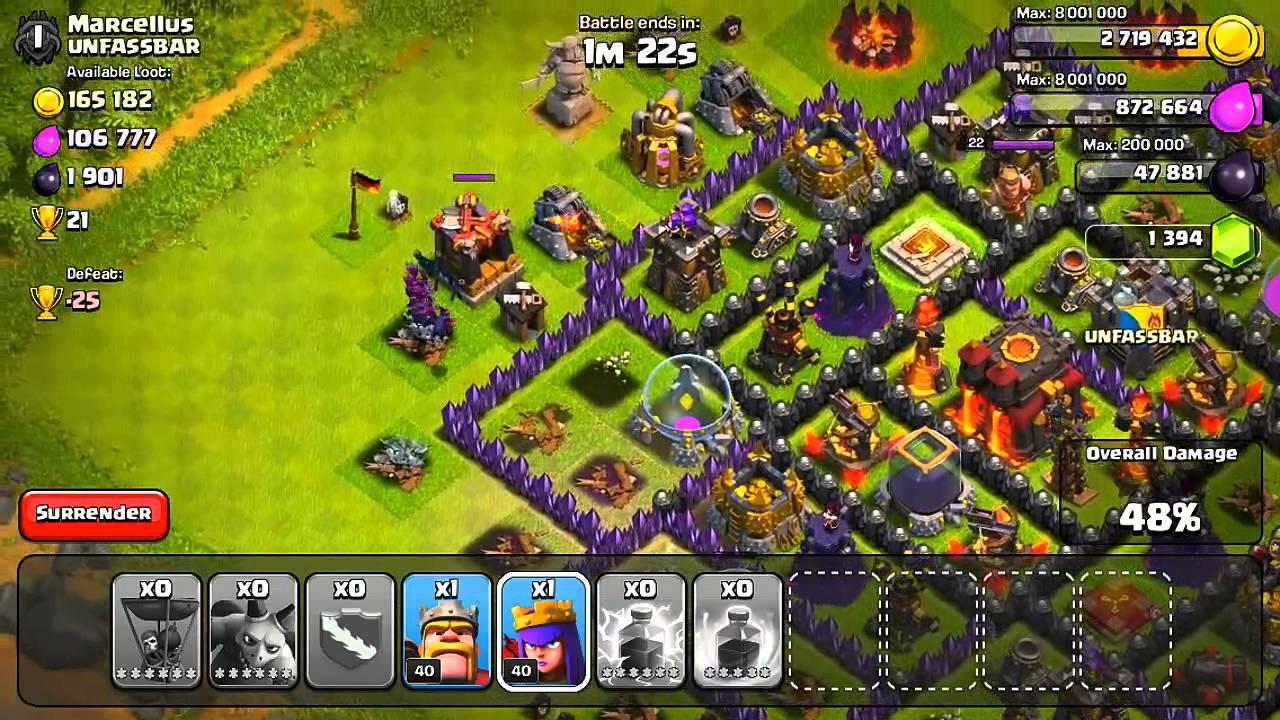 Clash Of Clans Einzelspieler Lösung