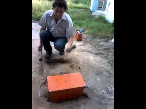 Como utilizar los moldes yaguaret para hacer bloques de - Como hacer cemento ...