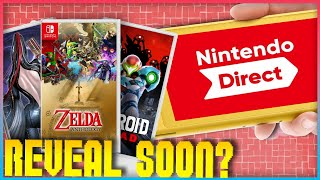 Leaked Nintendo Direct Predictions! |  Zelda 35th Games Appearance? Metroid Dread & MORE!