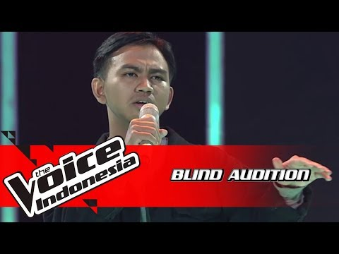 Yonathan - Love Song | Blind Auditions | The Voice Indonesia GTV 2018