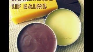 homemade lip balm all natural recipe