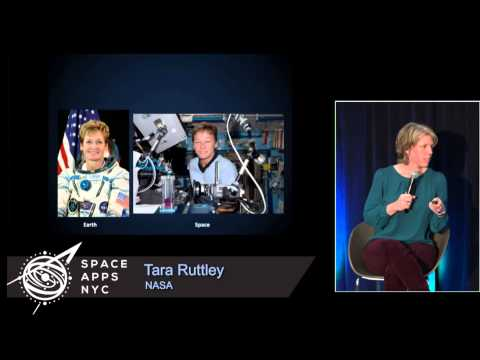 Space Apps NYC 2015 - Tara Ruttley - Hacking Away at Gravity on the ISS
