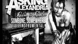 Asking Alexandria - Someone, Somewhere FULL INSTRUMENTAL COVER