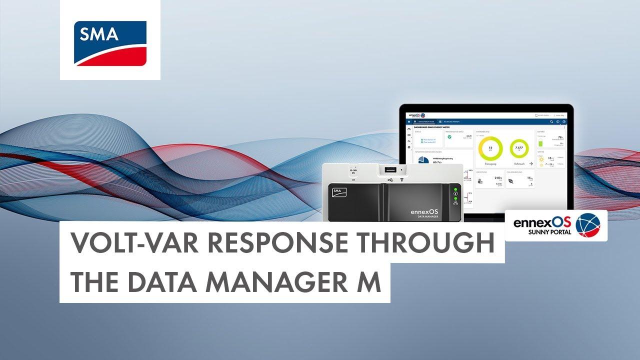 Download Tech Tip: Configuring a Volt-Var Response through the Data Manager M