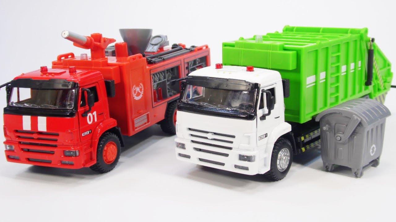 Машинки грузовики. Игрушечные модельки машин Matchbox - YouTube