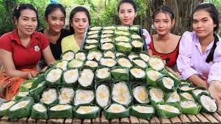 How to make Khmer traditional cake  recipe in my village - Amazing cooking