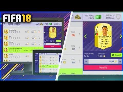 FIFA 18 WEB APP!! TUTORIAL PARA ENTRAR YA Y MUCHOS SOBRES GRATIS Y