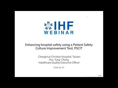 Enhancing hospital safety using the Patient Safety Culture Improvement Tool