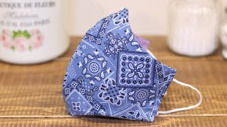 Breathe Healthy Mask For Pollen allergies Easy Very Fitted Face Mask Sewing Tutorial