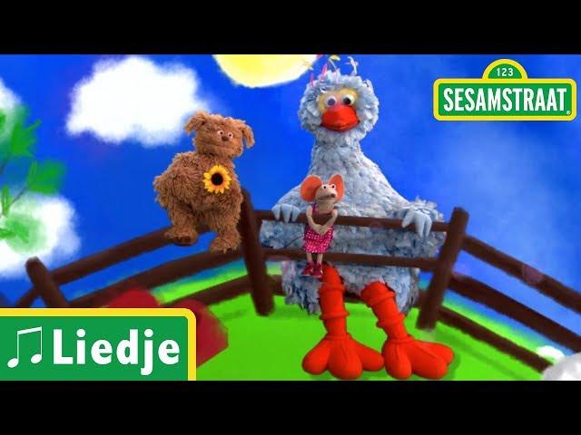 Drie kleine kleutertjes - Kinderliedje - Sesamstraat