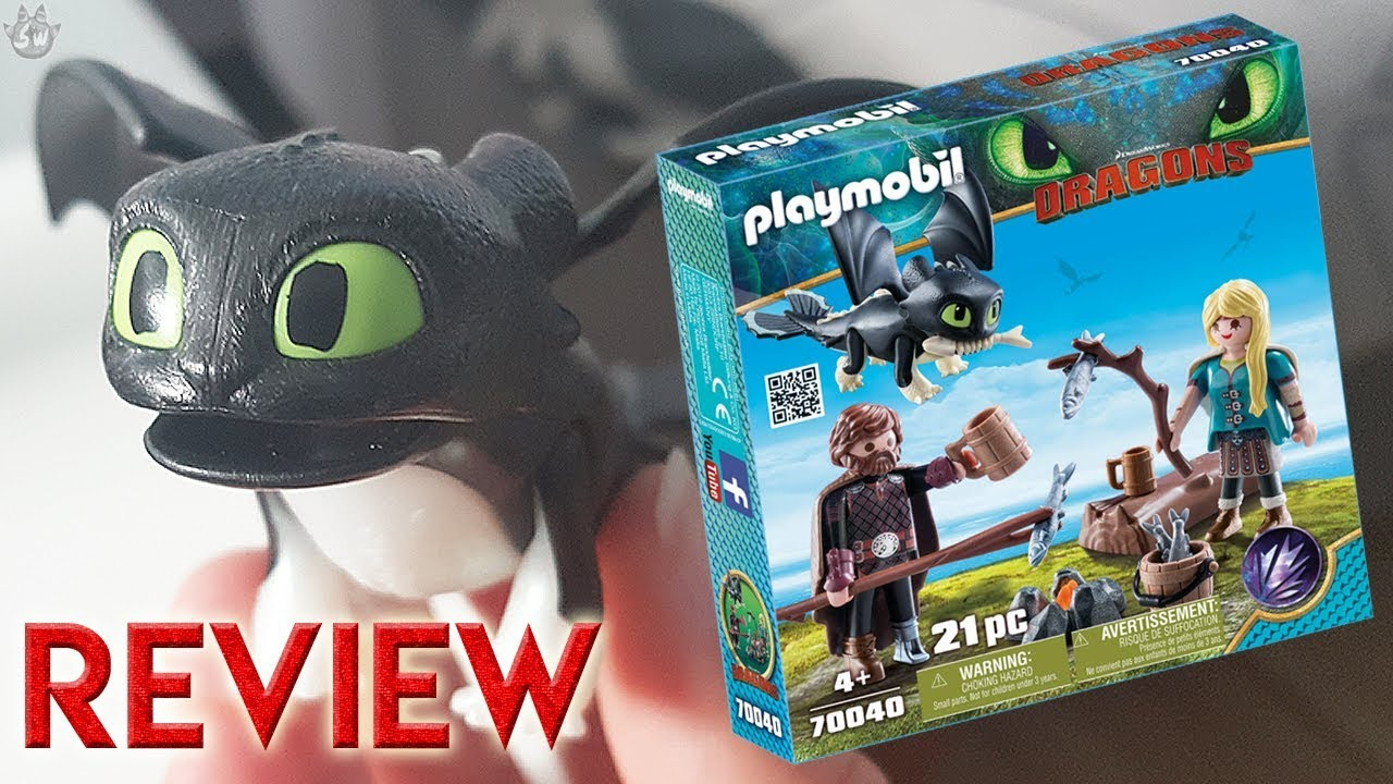 PLAYMOBIL® How to Train Your Dragon III Hiccup /& Astrid with Baby Dragon...