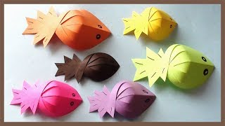 Paper Fish Making Tutorial | Simple & Easy Crafts