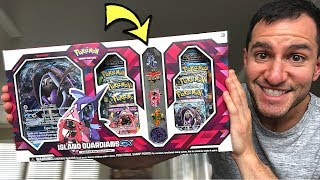 Unboxing NEW Pokemon Cards ISLAND GUARDIANS PIN COLLECTION BOX! (Lost Thunder Opening)