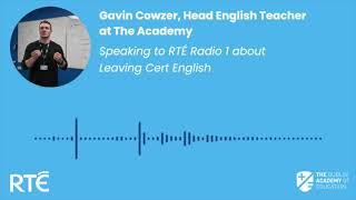 Gavin Cowzer - RTÉ 1 Drivetime Interview - 19.01.21