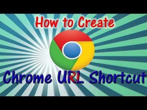 How To Create Google Chrome URL Shortcut On Desktop