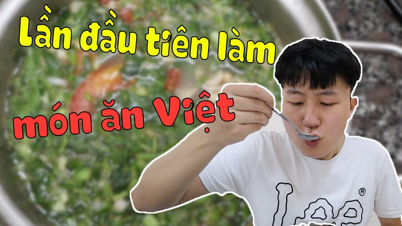 Đi chợ hỏi mọi người cách nấu món ăn Việt Nam
