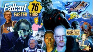 60+ FALLOUT 76 EASTER EGGS AND SECRETS!